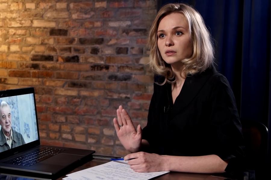 Комментарии Анны Кулик в фильме о скопинском маньяке